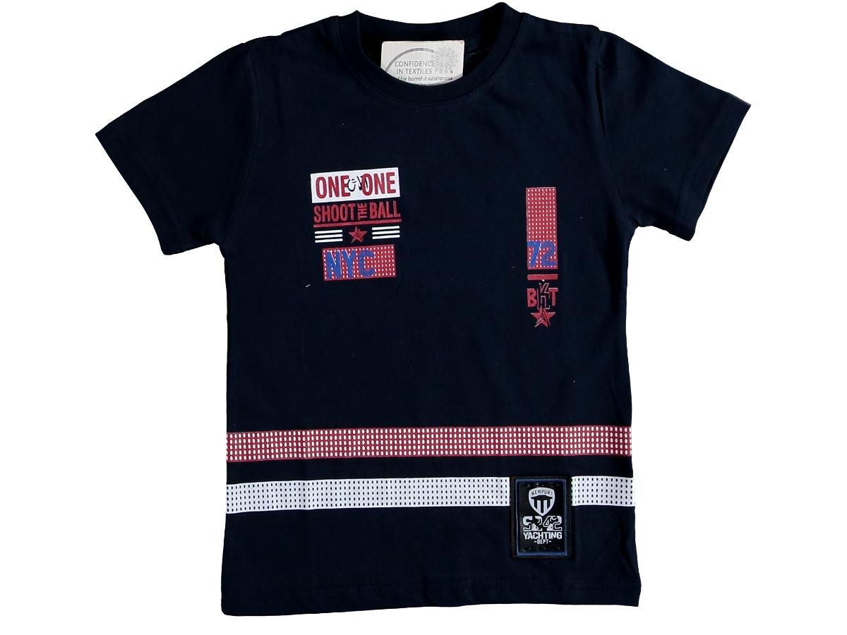 Футболка темно-синий 3/7 лет 324660